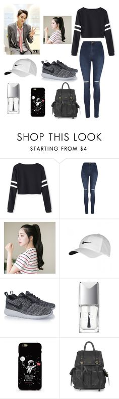 """""""Visual Mingyu..."""" by singerforlyfe ❤ liked on Polyvore featuring George, GABALNARA, NIKE, Christian Dior, Topshop, women's clothing, women's fashion, women, female and woman"""