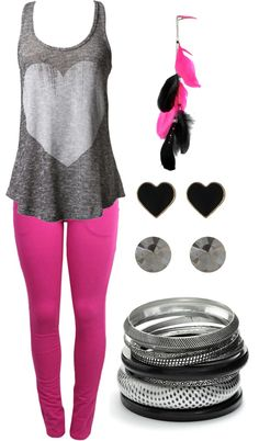 """""""hearts and feathers"""" by karlibugg on Polyvore"""