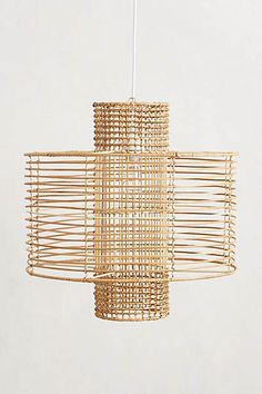 WOVEN LIGHT by ANTHROPOLOGIE favorited by LIGHTBOX AMSTERDAM