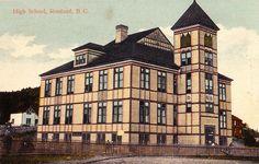 High School, Rossland, BC, c.1910