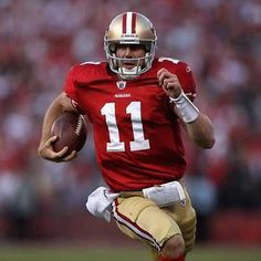 I hope Alex Smith re signs with the team.