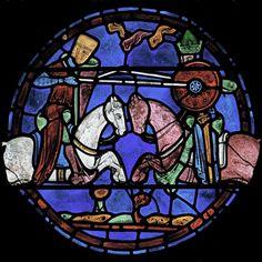 vitrail de CharlemagneChartres