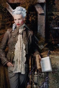 Steampunk Reader: Portrait of a Lady, by Photographer Juan Gatti