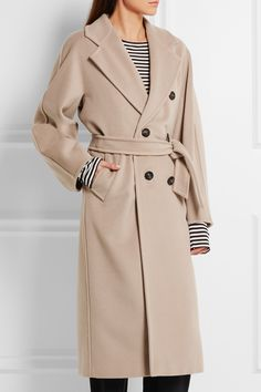 Max Mara | Madame 10180 wool and cashmere-blend coat | NET-A-PORTER.COM