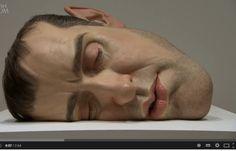 Hiperrealismo de alto impacto, Ron Mueeck busca crear esculturas realistas pero fuera de lo común por medio del arte  y la tecnología en el crear, https://www.youtube.com/watch?v=cGrEKgVKp4Q