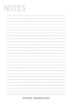 Fiche pratique à imprimer : Feuille de Notes Organisation Administrative, Soirée Des Oscars, Bujo, Exercises, Organize, Bullet Journal, Notes, Art, Day Planners