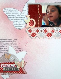 layout featuring MEMOIR by @Kinsey Keeling Wilson