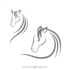 Resultado de imagem para shutterstock desenhos vetoriais de cavalos