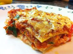 Vegan Lasagna with Cashew Cheeze (Hebrew)