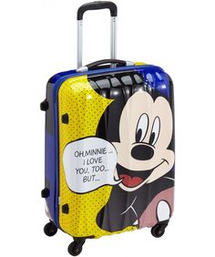 American Tourister | Disney Legends | 65 x 47 x 27 cm | #MickeyMouse #Kinderkoffer