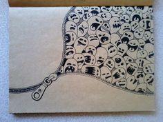 DOODLE DRAW SKETCHBOOK (Part 1) by Kerby Rosanes, via Behance