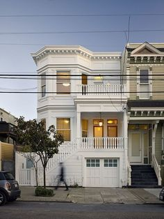 Lower Haight Residence by Neill and Lee Contractors...fantastic update on the inside and lovely Victorian charm from the street!