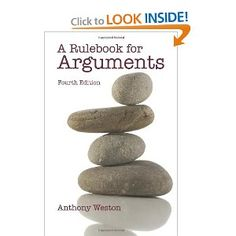 A Rulebook for Arguments is a succinct introduction to the art of writing and assessing arguments, organized around specific rules, each illustrated and explained soundly but briefly. This widely popular primer - translated into eight languages - remains the first choice in all disciplines for writers who seek straightforward guidance about how to assess arguments and how to cogently construct them.