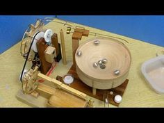 Marble machine with double wheel (Take2) - YouTube
