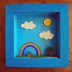 MOON & WOOD: The rainbow house