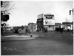 Note the Tastykake billboard!  4225 N. Broad St. 1921  (Library of Congress)