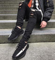 yeezy boost size 8.5 adidas kanye yeezy 350 v2 black and white aq123