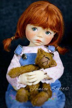 Freckles, OOAK Saffi by Meadowdolls