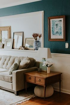 """Jenny writes about her inspiration: """"Emily Henderson, Mid-century Modern, my family, historic cities like Savannah, both Glen and I are from South Florida so it always plays a major role in what we're drawn to."""""""