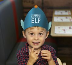 Decks Little Helpers. Bring along your elf for some tasty treats #Roast
