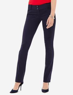 Exact Stretch Simply Straight Pants | Colorful Pants | THE LIMITED
