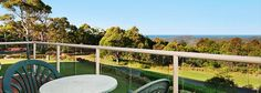 A balcony with a View at Eagle Heights Hotel
