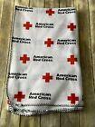 Original American Red Cross Logo Fleece 5x7 Blanket Official Emergency #bedding