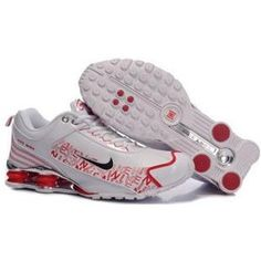 d7825bbeb56 104265 033 Nike Shox R4 White Red J09086 Air Jordan Shoes
