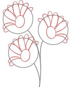 How to Draw Daisies, Step by Step, Flowers, Pop Culture, FREE Online Drawing Tutorial, Added by Dawn, September 6, 2010, 8:16:15 am