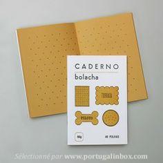 Cahier portugais feuilles biscuit Serrote vendu sur le site français www.portugalinbox.com