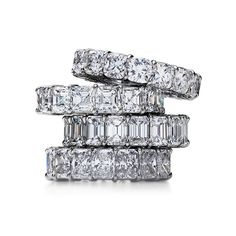 Eternity rings! I love these!  Not even for a wedding.... Just because I plan to be ridiculous for an eternity! ;)  Is this like Cartier where I can't buy my OWN?