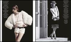 """""""Zelda""""  Kamila Filipcikova é a estrela do editorial fotografado por Sven Baenziger para a L'Officiel Paris, maio 2012."""