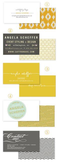 Business/Calling Card ideas