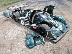 Bentley EXP Speed 8 race car