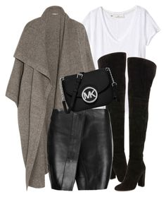 """What I'd Wear"" by monmondefou ❤ liked on Polyvore featuring H&M, STELLA McCARTNEY, Gianvito Rossi, Acne Studios and MICHAEL Michael Kors"