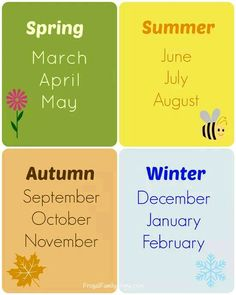 Seasons  (☆^ー^☆)                     .
