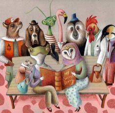 Secret diary,… little secret!? / Diario secreto,… secreto!? (ilustración de Marta Farina)
