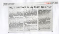 Agnishwar swimmer Anchor to Silver
