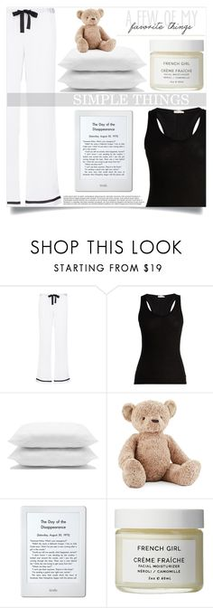 """Untitled #470"" by mistressofdarkness on Polyvore featuring Morgan Lane, Skin, M&Co, Jellycat, Amazon and French Girl"