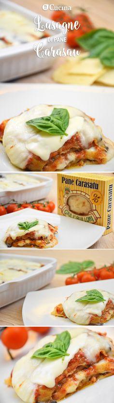 Le #lasagne di #pane #carasau sono un'alternativa alle classiche lasagne alla bolognese. Semplici, sfiziose e veloci. Ecco la #videoricetta