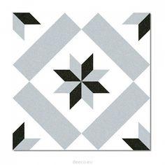 Płytka ceramiczna Vives 1900 Calvet Gris 20x20 cm