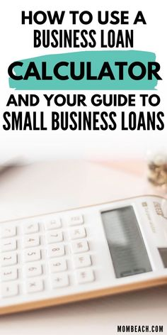 If you are starting a business there is a lot you need to learn and you may need a small business loan. Check out this business loan calculator and your guide to small business loans. #smallbusiness #entrepreneur #womeninbusiness #smallbusinessloan#startup Sell Your Business, Starting A Business, Term Loan, Loan Calculator, Credit Rating, The Borrowers, Entrepreneur, Check