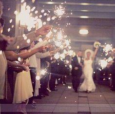 Sparklers new year weddings @labola.co.za