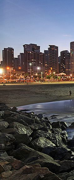Fortaleza, Ceara - Brazil  /  Fortaleza is the state capital of Ceará, located in Northeastern Brazil. It has a population of 2.5 million inhabitants.