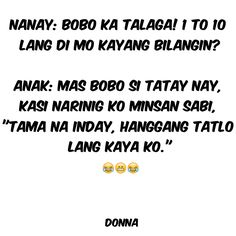 Pinoy Quotes, Filipino Funny, Tagalog, Charms, Palette, Jokes, Color, Santiago, Humor
