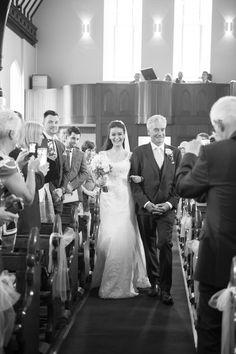 Ballymagarvey Village Wedding Photography By The Fennells One Shoulder Wedding Dress, Our Wedding, Wedding Photography, Wedding Dresses, Fashion, Wedding Shot, Bride Gowns, Wedding Gowns, Moda