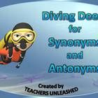 This 21 slide PowerPoint presentation will take your students to the majestic ocean as they explore understanding synonyms and antonyms. The presen...