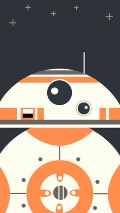 スターウォーズフォースの覚醒/BB-8のどアップ iPhone壁紙 Wallpaper Backgrounds iPhone6/6S and Plus  Star Wars iPhone Wallpaper