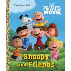 Snoopy and Friends -The Peanuts Movie Book (Hard Cover)