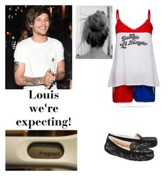 """Louis we're expecting!"" by horans-girlfriend on Polyvore featuring UGG"